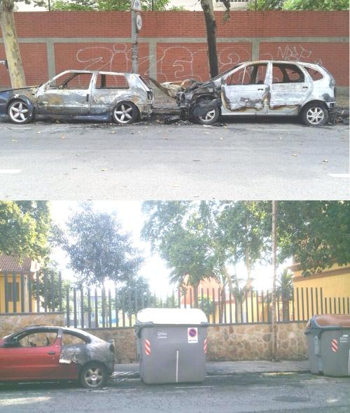 Cotxes cremats